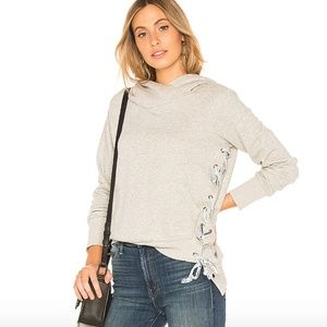REVOLVE x NSF Strap Lace up hoodie